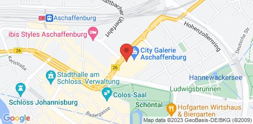 Directions to Veggie Love Aschaffenburg