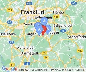 Karte für Odenwaldblick