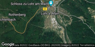 Google Map of Wombach