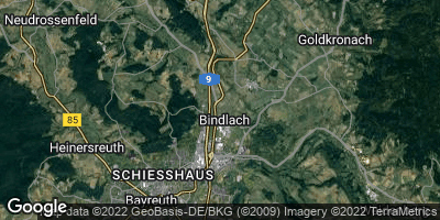 Google Map of Bindlach