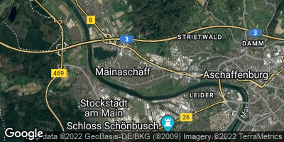 Google Map of Mainaschaff
