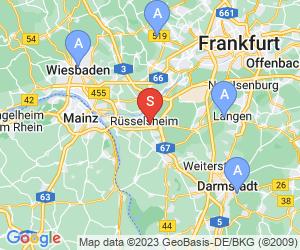 Karte für Rhein-Main Adventure Forest