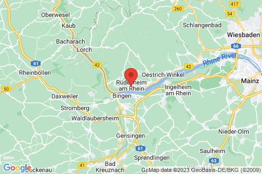Karte Rüdesheim am Rhein