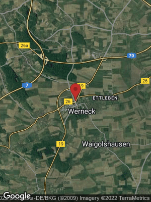 Google Map of Werneck