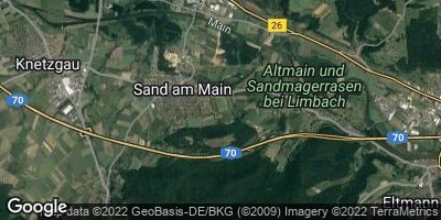 Google Map of Sand am Main
