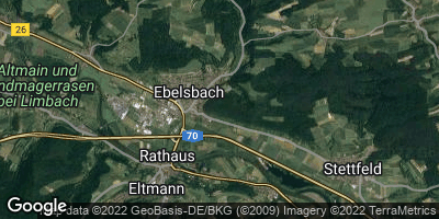 Google Map of Ebelsbach