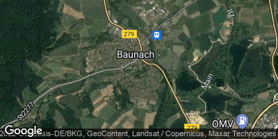Google Map of Baunach