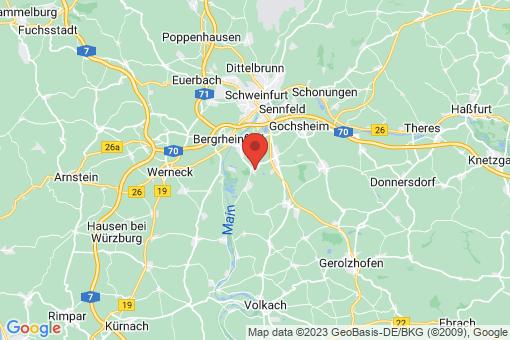 Karte Röthlein