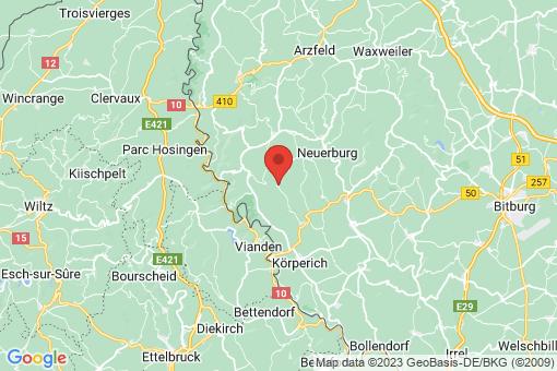 Karte Koxhausen