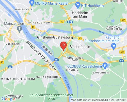 Google Karte von Rohrreinigung Ginsheim-Gustavsburg