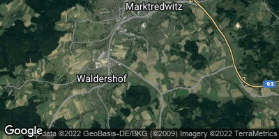 Google Map of Pfaffenreuth