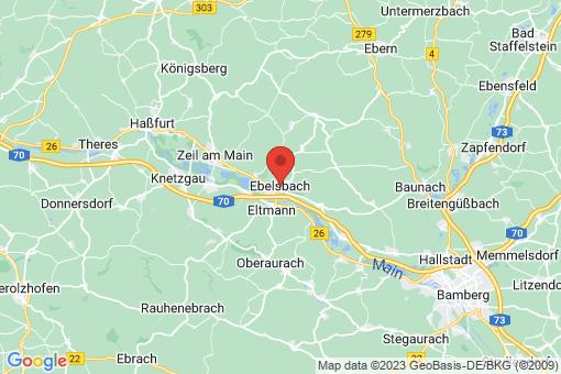 Karte Ebelsbach