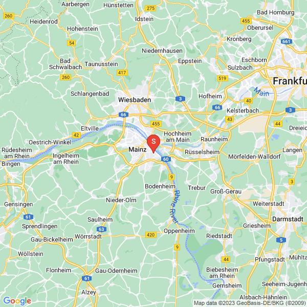 Disc Golf-Anlage Mainz