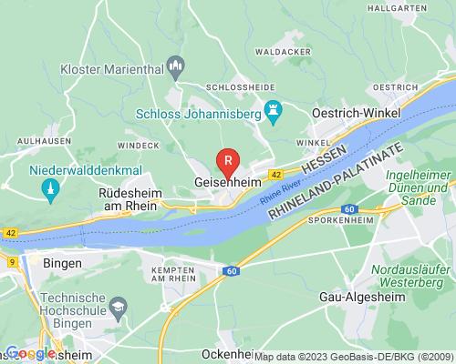 Google Karte von Rohrreinigung Geisenheim