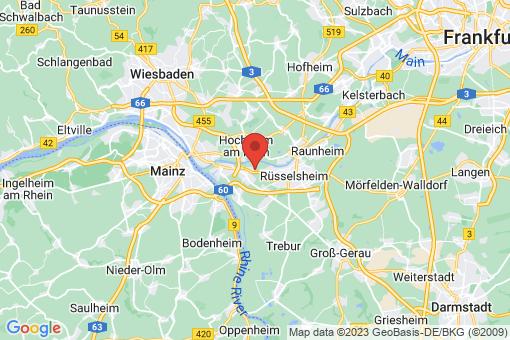 Karte Bischofsheim