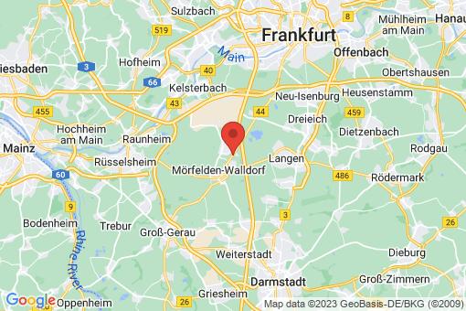 Karte Mörfelden-Walldorf