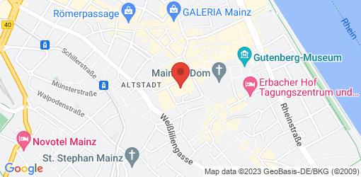 Directions to HANS IM GLÜCK Burgergrill