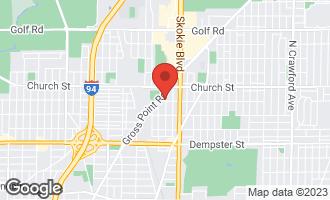 Map of 4900 Davis Street 1W SKOKIE, IL 60077