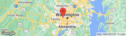 Map of 4905 OLD DOMINION DRIVE ARLINGTON, VA 22207