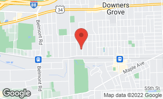 Map of 4906 Wallbank Avenue DOWNERS GROVE, IL 60515