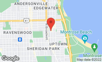 Map of 4909 North Winthrop Avenue Chicago, IL 60640