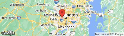 Map of 4912 34TH ROAD N ARLINGTON, VA 22207