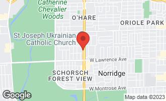 Map of 4914 North Cumberland Avenue NORRIDGE, IL 60706
