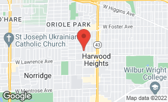 Map of 4915 North Oketo Avenue HARWOOD HEIGHTS, IL 60706