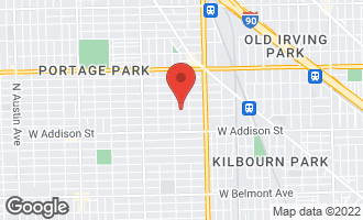 Map of 4929 West Warwick Avenue CHICAGO, IL 60641