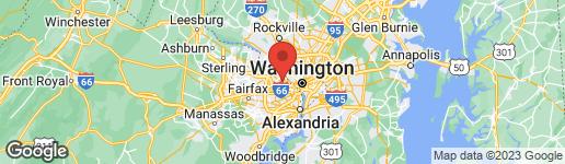 Map of 4933 34TH STREET N ARLINGTON, VA 22207