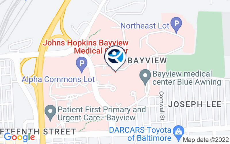 Johns Hopkins Bayview Medical Center Location and Directions