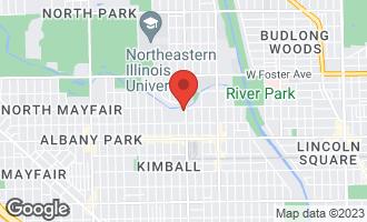 Map of 4944 North Kimball Avenue 4E CHICAGO, IL 60625