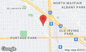 Map of 4944 West Cullom Avenue CHICAGO, IL 60641