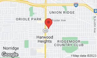 Map of 4956 North Mont Clare Avenue CHICAGO, IL 60656