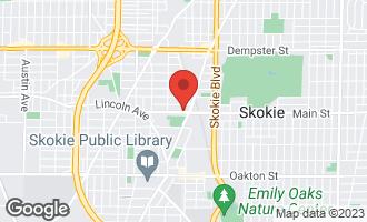 Map of 4960 Main Street SKOKIE, IL 60077