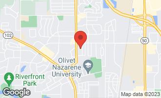 Map of 497 Eugene Drive BOURBONNAIS, IL 60914