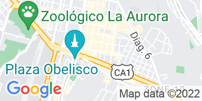 Google Map of 4A Avenida,Zona 10, guatemala
