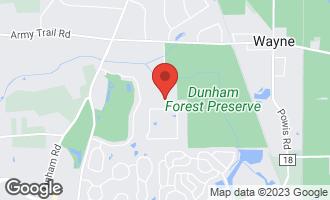 Map of 4n640 Honey Hill Drive WAYNE, IL 60184