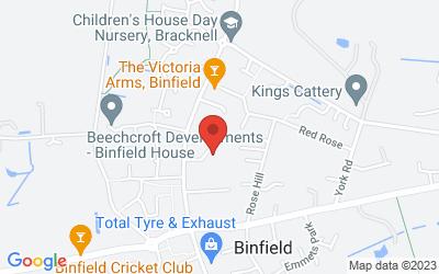 Map of In Person (Binfield, Berkshire)