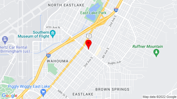 Google Map of 5 Oporto-Madrid Blvd. S. , Birmingham, Alabama 35206
