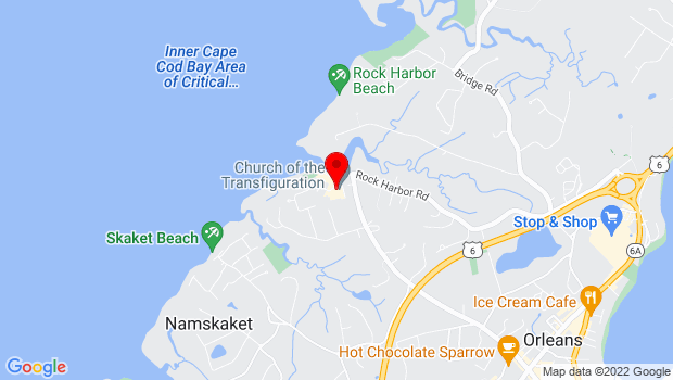 Google Map of 5 Bayview Drive, Orleans, MA 02653