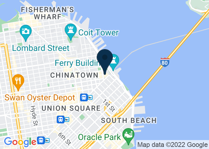 Map of 5 Embarcadero Center, San Francisco, CA 94111, United States