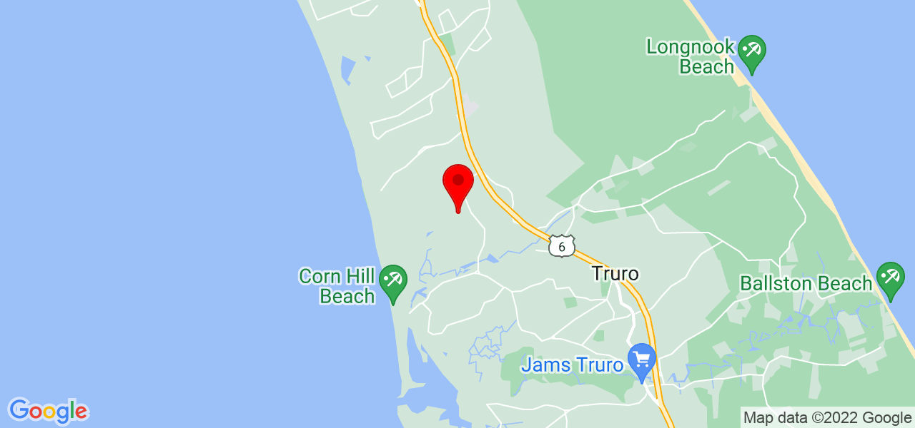 Google Map of 5 First Light Lane Truro MA 02666