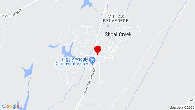 Google Map of 5 Mount Laurel Avenue , Birmingham, AL 35242