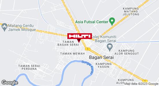 Get directions to Bagan Serai