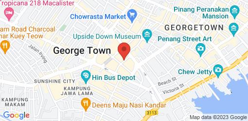 Directions to Indian Vegan Food Stall @Batu Lanchang Market Food Court