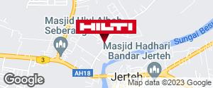 Get directions to Pasir Akar