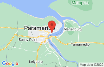 Map of Paramaribo