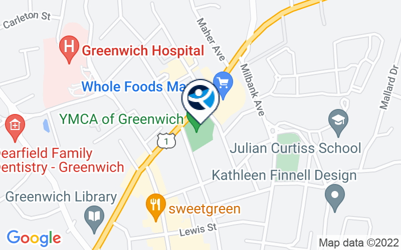 YMCA of Greenwich Location and Directions