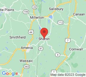 Job Map - 50 HOSPITAL HILL ROAD Sharon, Connecticut 06069 US
